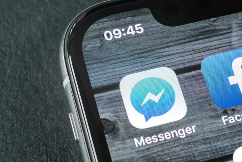 Messenger : Facebook teste actuellement le (dé)verrouillage par Touch ID et Face ID