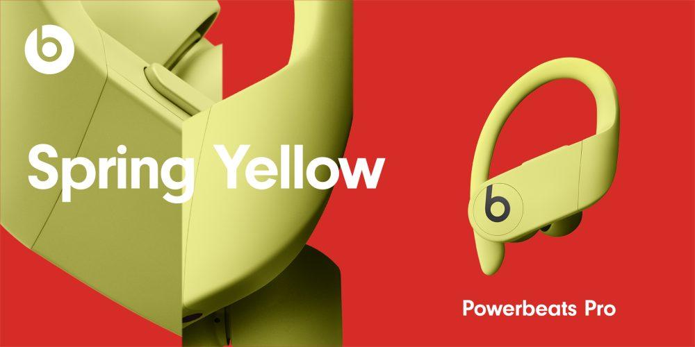 PowerBeats Pro Nouveaux Coloris Spring Yellow Powerbeats Pro : les 4 nouvelles couleurs sont officialisés par Apple, disponibles le 9 juin