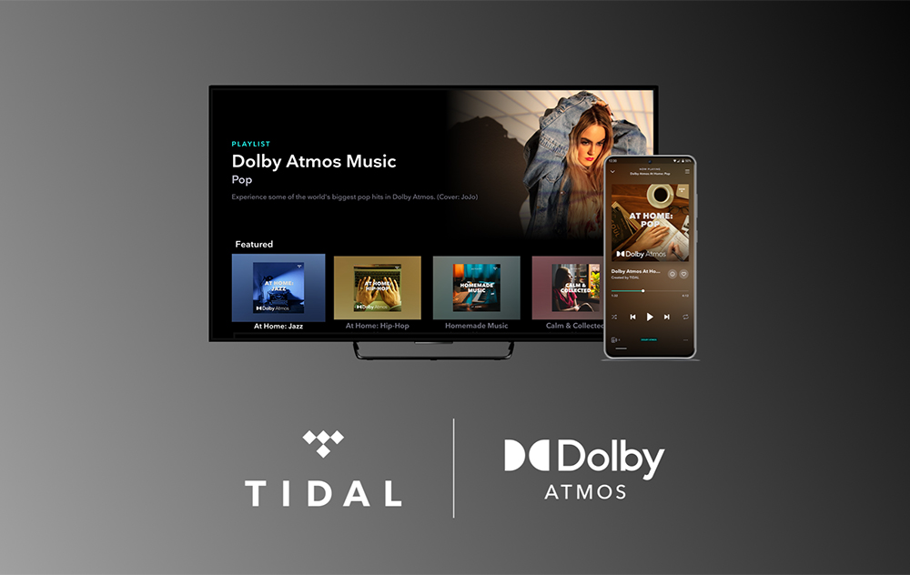TIDAL Dolby Atmos Apple TV 4K Tidal ajoute le son Dolby Atmos sur lApple TV 4K pour la musique