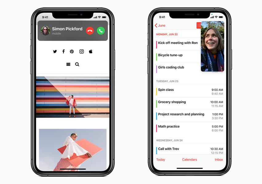 iOS 14 Appels iOS 14 est là : widgets sur lécran daccueil, App Clips, Image dans Image, nouvel écran pour les appels...