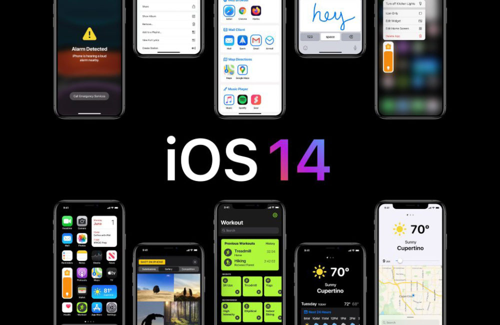 iOS 14 concept Une autre rumeur annonce quiOS 14 supportera tous les iPhone qui sont compatibles avec iOS 13