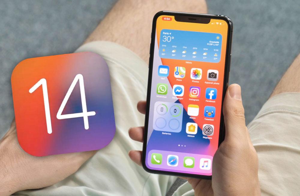 iOS 14 iPhone iOS 14 et iPadOS 14 : Apple propose la bêta 1 aux développeurs