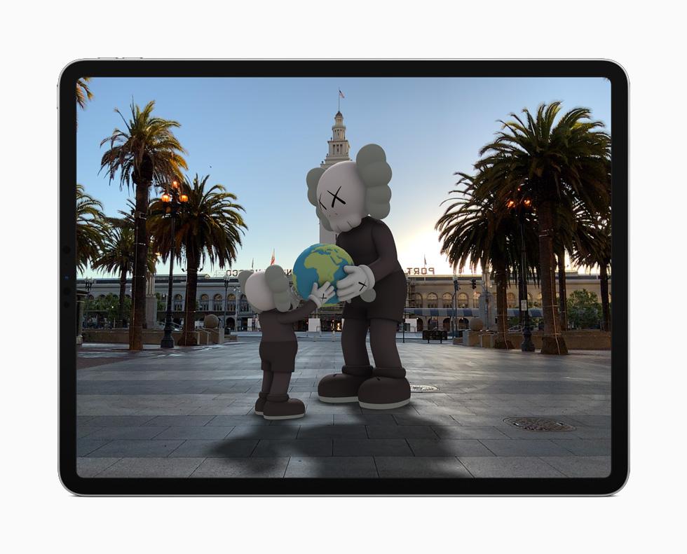 iPadOS 14 AR Apple a présenté iPadOS 14 : Scribble, réalité augmentée améliorée, du nouveau pour Siri et lApple Pencil…
