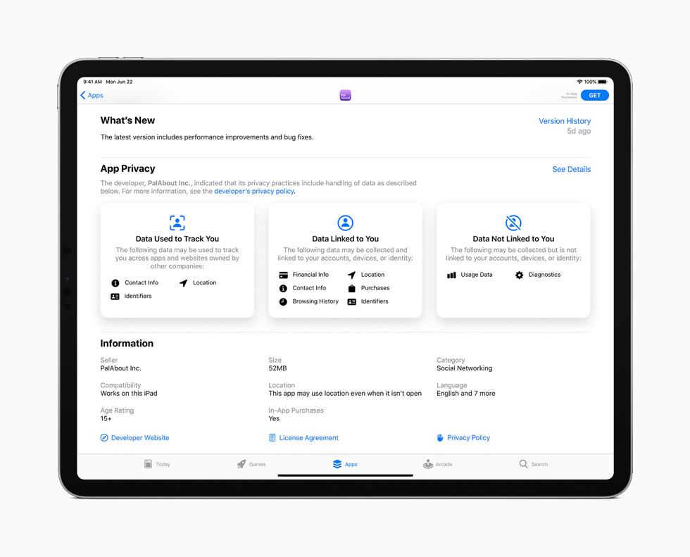 iPadOS 14 App Store Confidentialité Apple a présenté iPadOS 14 : Scribble, réalité augmentée améliorée, du nouveau pour Siri et lApple Pencil…