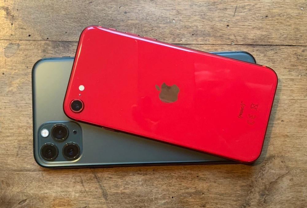 iPhone SE Rouge iPhone 11 Pro Près de la moitié des revenus de smartphones en Europe de lOuest est représentée par liPhone