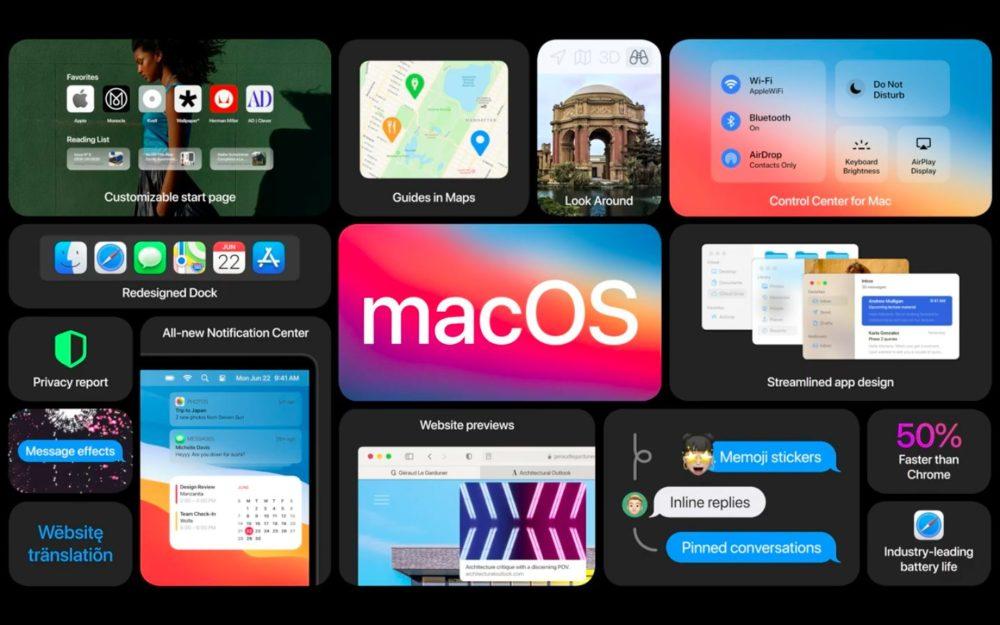macOS Big Sur Grandes Nouveautes macOS 11.3 en version finale supportera les cartes graphiques RX 6800/6900 XT dAMD