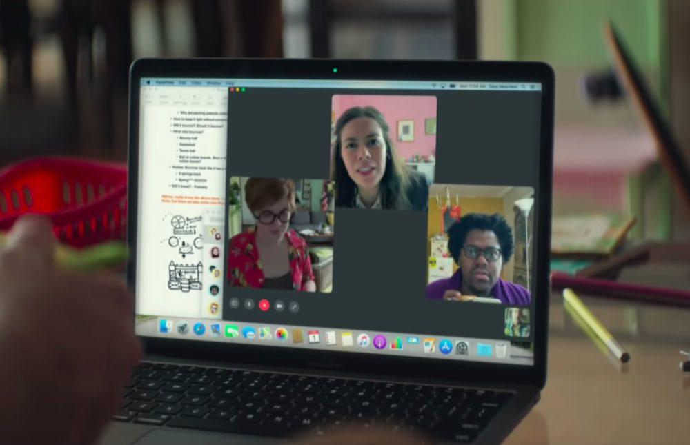 Apple Pub Teletravail Télétravail : une nouvelle vidéo est publiée par Apple pour faire léloge de la capacité de ses produits