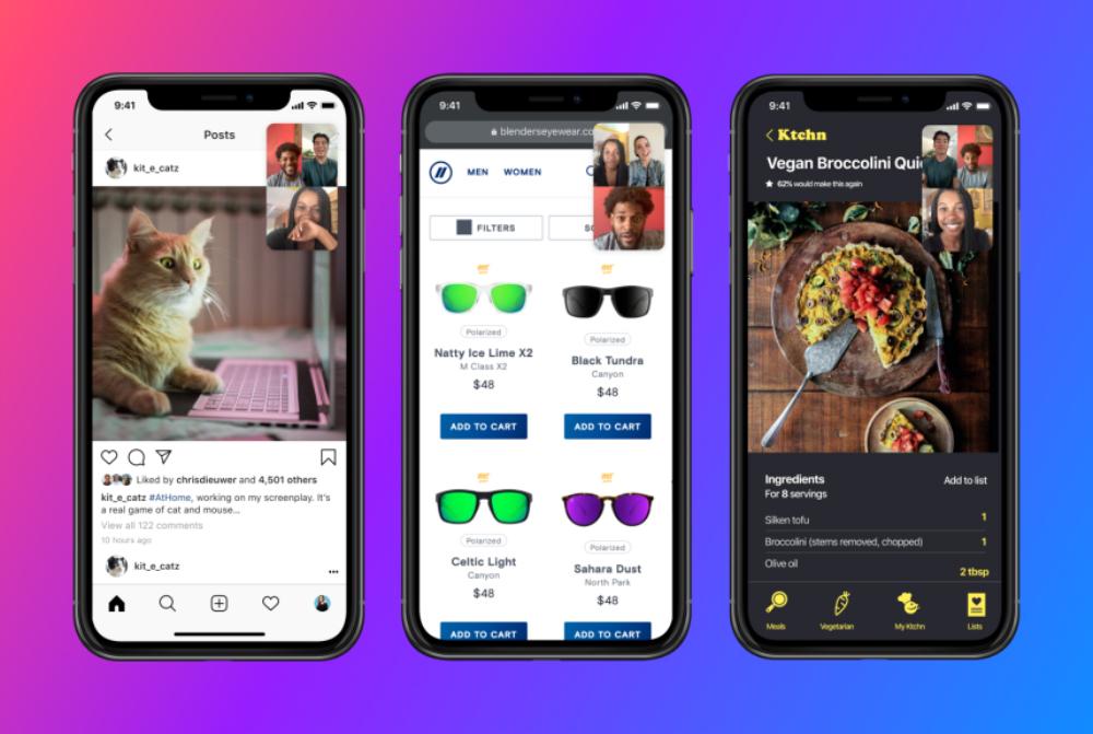 FaceBook Messenger Partage Ecran iOS iPhone Messenger : Facebook ajoute le partage décran sur iOS et Android