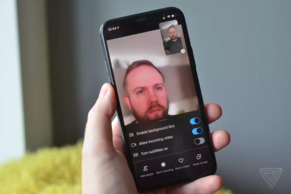 Skype iOS Flou Arrière Plan Skype sur iOS : le flou darrière plan durant les appels vidéo est désormais proposé