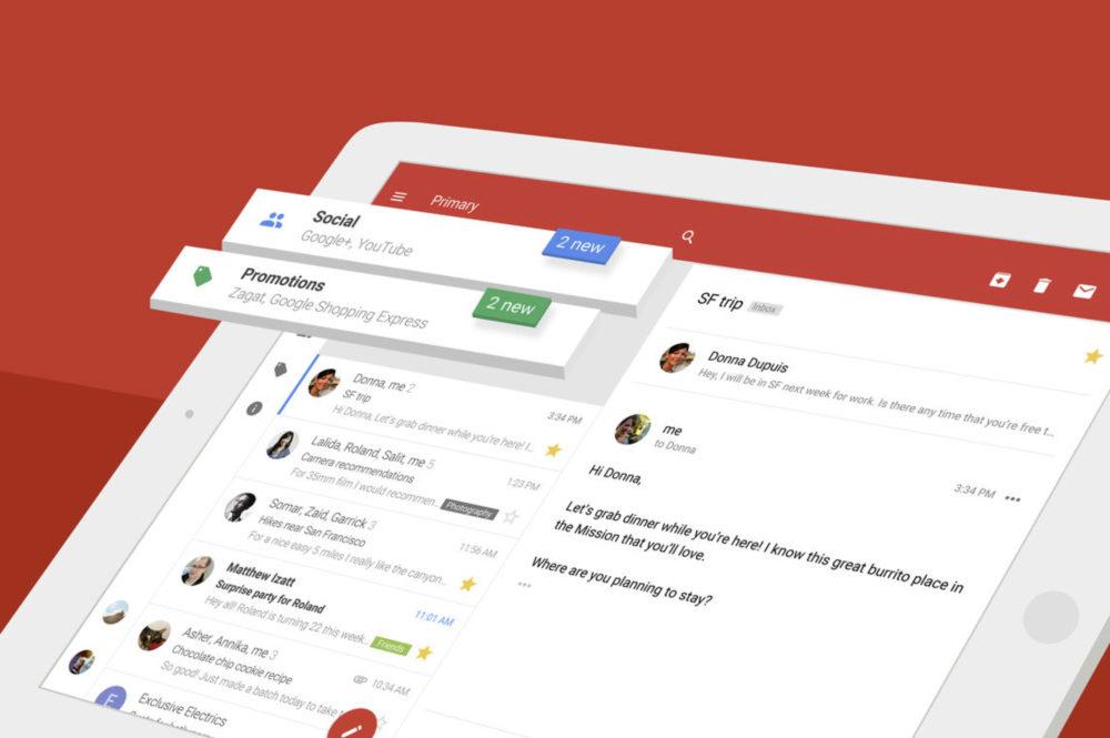 gmail ios app ipad Lapplication Gmail sur iPad est enfin compatible avec Split View