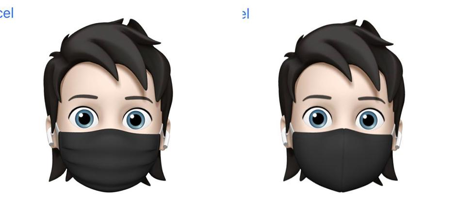 iOS 14 Beta 3 Memoji Masques iOS 14 bêta 3 : bug stockage corrigé, disparition de 3D Touch et dautres nouveautés