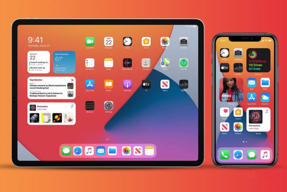 iOS 14 iPadOS 14 iPad Pro iPhone 11 Pro iOS 14 et iPadOS 14 : Apple publie la bêta 4 publique