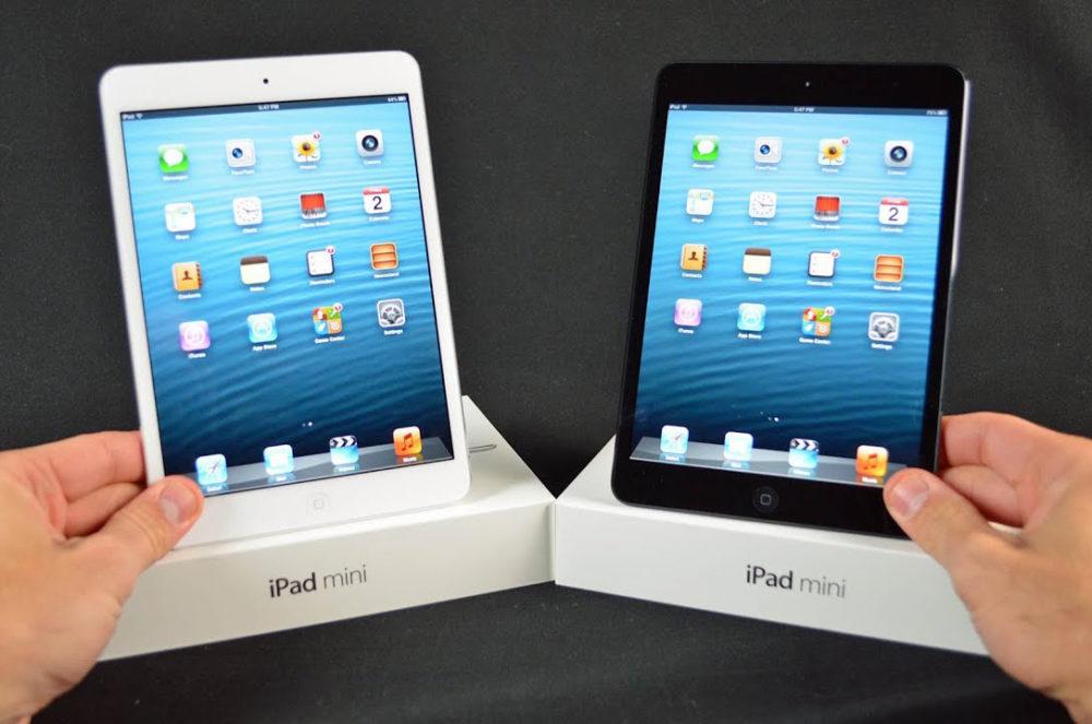 iPad mini Blanc Noir Le tout premier iPad mini va rejoindre la liste des produits obsolètes dApple