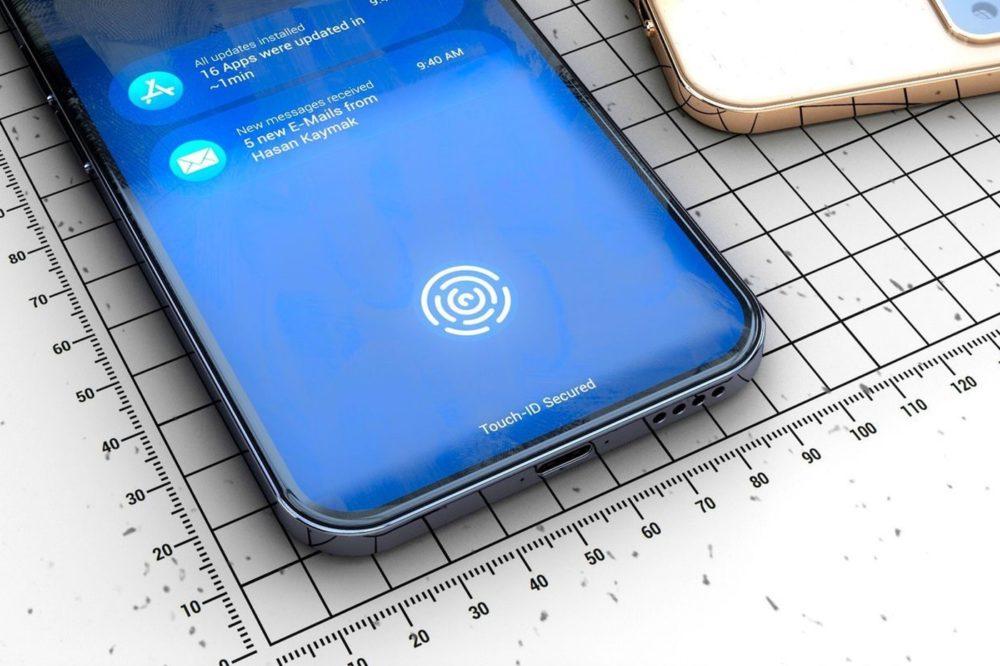 iPhone Touch ID Sous Ecran Brevet : Apple aurait toujours lidée de proposer un iPhone avec Touch ID sous lécran