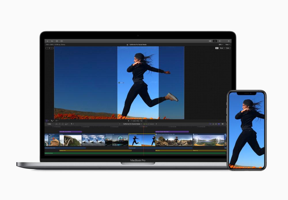 Apple Final Cut Pro X Mise A Jour Les apps GarageBand, Final Cut Pro et Logic Pro mises à jour afin de supporter la puce Apple M1