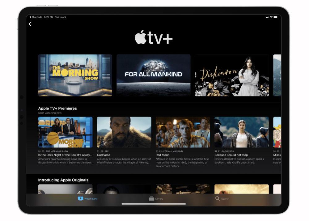 Apple TV Plus Apple TV+ : le service est proposé gratuitement sur les vols American Airlines