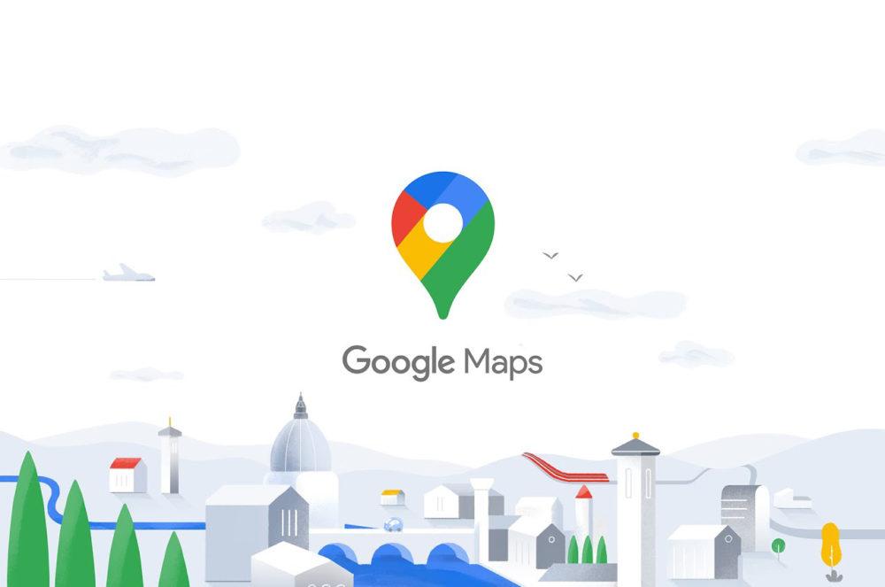 Google Maps Logo Google Maps : enfin compatible avec lApple Watch et ajoute des améliorations sur CarPlay
