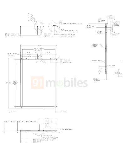 Rumeur Nouvel iPad Schemas 2 Un iPad 10,8 pouces avec USB C et Face ID se dévoilent avec des schémas