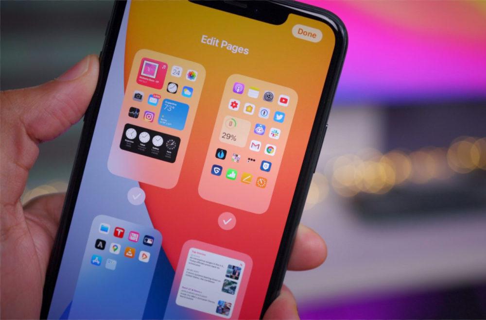 iOS 14 iPhone 1 iOS 14 et iPadOS 14 bêta 5 : la liste des nouveautés