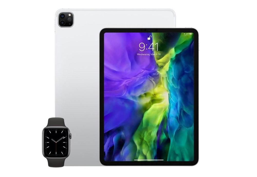iPad et Apple Watch LApple Watch Series 6 et de nouveaux iPad sont retrouvés dans la base de données de lEEC