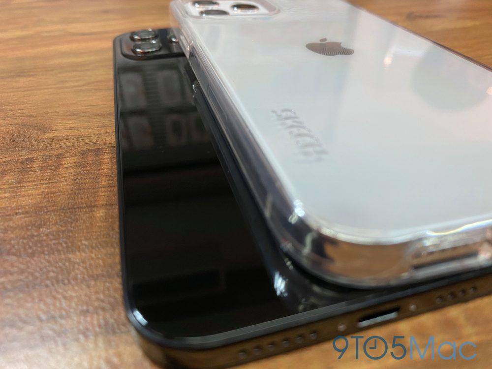 iPhone 12 Images Factices 3 Des images factices de liPhone 12 montrent une conception proche de celle de liPhone 4