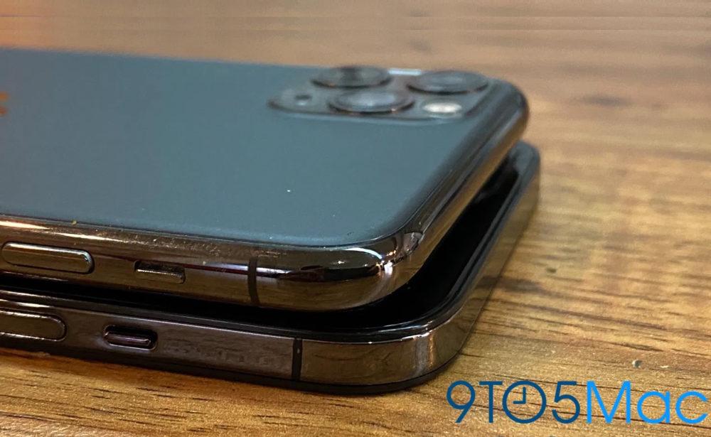 iPhone 12 Images Factices Des images factices de liPhone 12 montrent une conception proche de celle de liPhone 4