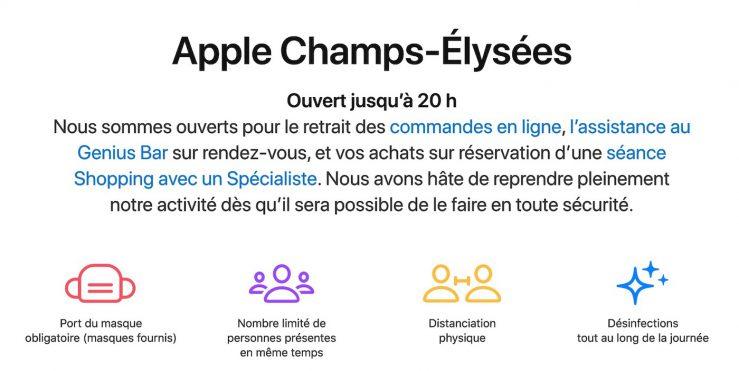 Apple Store France Rendez vous Les rendez vous sont obligatoires pour un achat ou une réparation dans les Apple Store en France