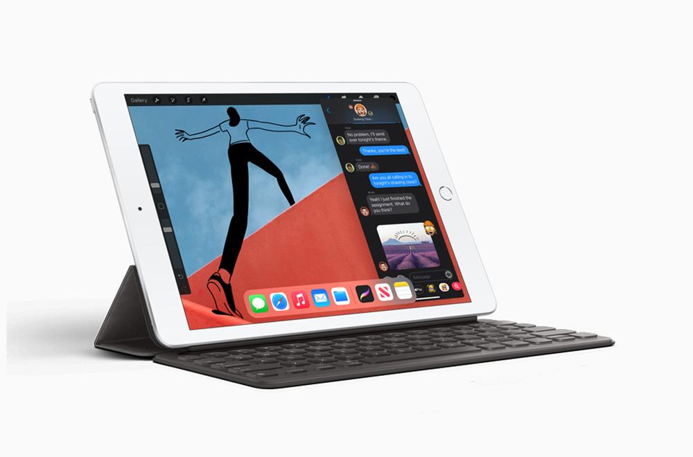 Apple iPad 8eme Generation Apple lève le voile sur liPad 8 : puce A12, support de lApple Pencil 1 et du Smart Keyboard...