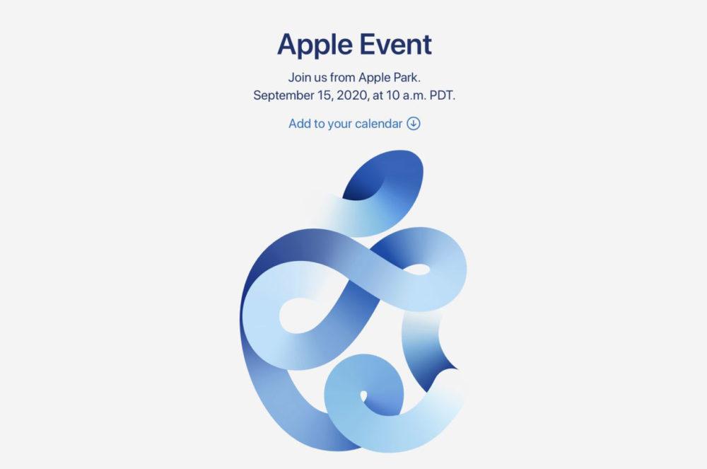 Apple vient dannoncer officiellement une keynote pour le 15 septembre