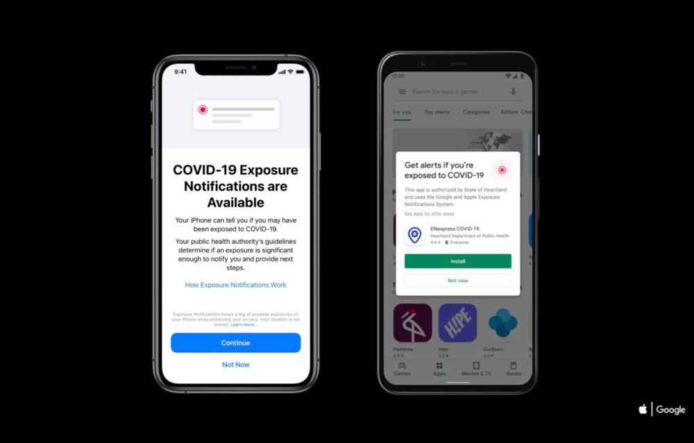 iOS 13.7 disponible : nouveau système de notifications COVID 19 intégré et plus encore