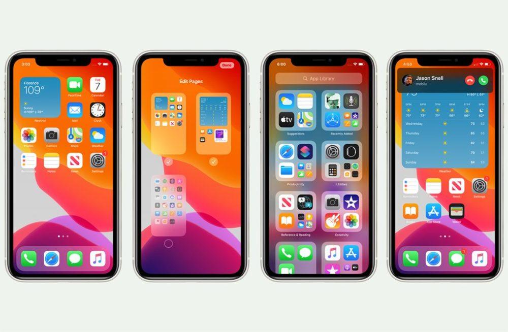 iOS 14 iPhone 11 Pro 2 iOS 14.2 et iPadOS 14.2 : Apple publie la bêta 2 publique