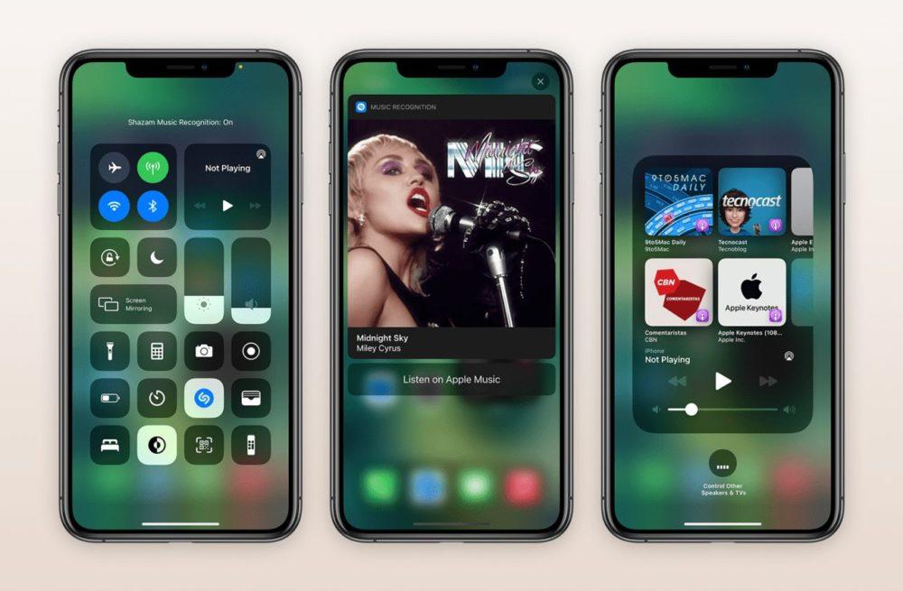 iOS 14.2 Shazam iOS 14.2 et iPadOS 14.2 : la bêta 2 développeurs est disponible au téléchargement