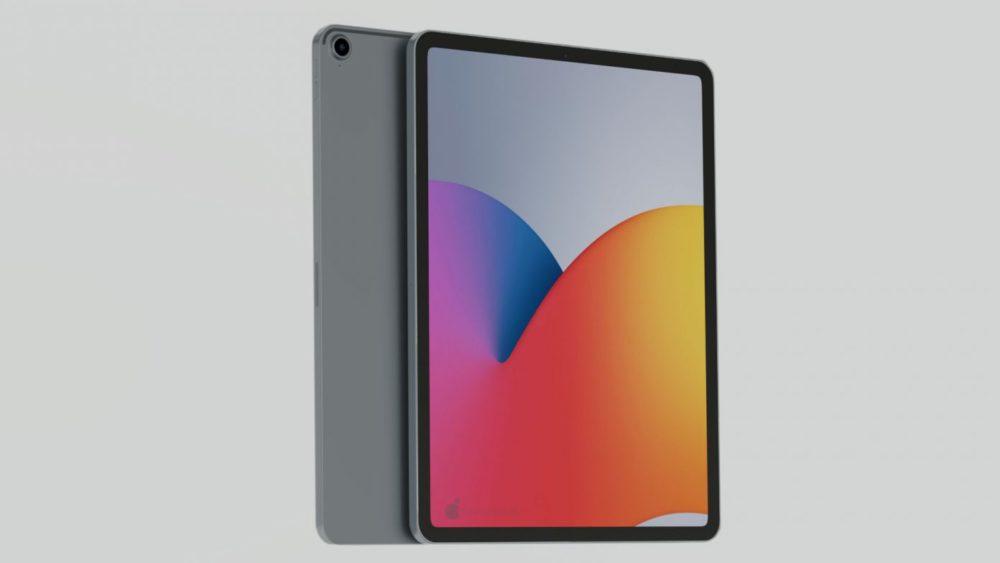 iPad Air 4 concept 10 Nouvel iPad Air 4 : un concept montre un design similaire à celui de liPad Pro 2018