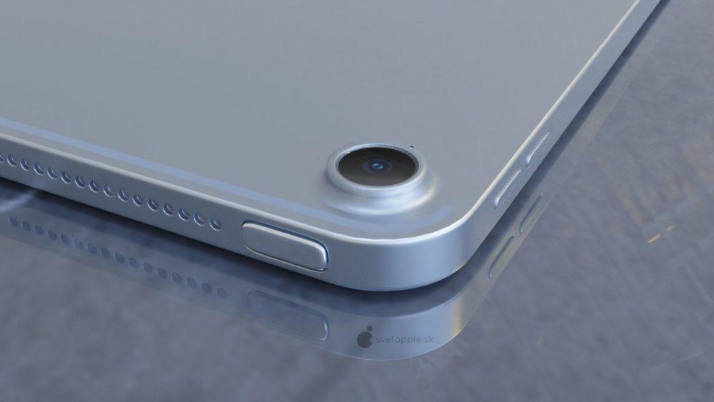 iPad Air 4 concept 2 Nouvel iPad Air 4 : un concept montre un design similaire à celui de liPad Pro 2018