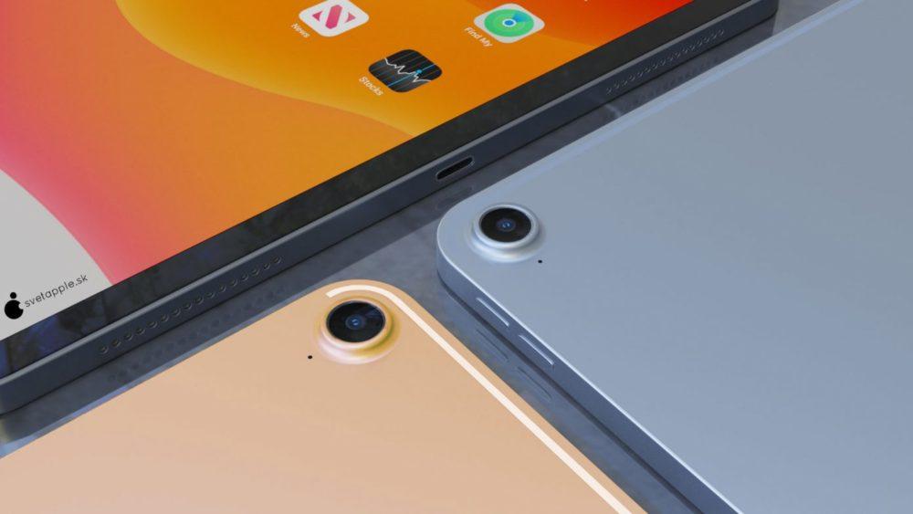 iPad Air 4 concept 3 Nouvel iPad Air 4 : un concept montre un design similaire à celui de liPad Pro 2018