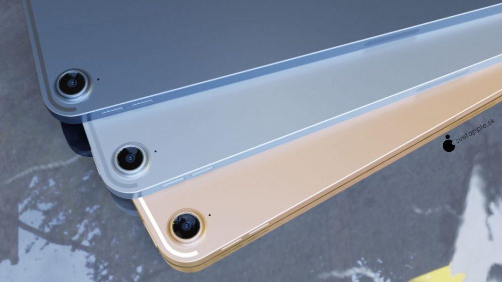iPad Air 4 concept 4 Nouvel iPad Air 4 : un concept montre un design similaire à celui de liPad Pro 2018