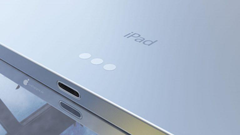 iPad Air 4 concept 6 Nouvel iPad Air 4 : un concept montre un design similaire à celui de liPad Pro 2018