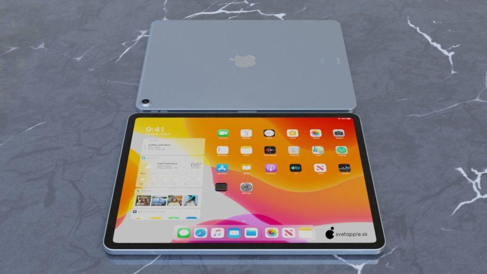 iPad Air 4 concept 7 Nouvel iPad Air 4 : un concept montre un design similaire à celui de liPad Pro 2018