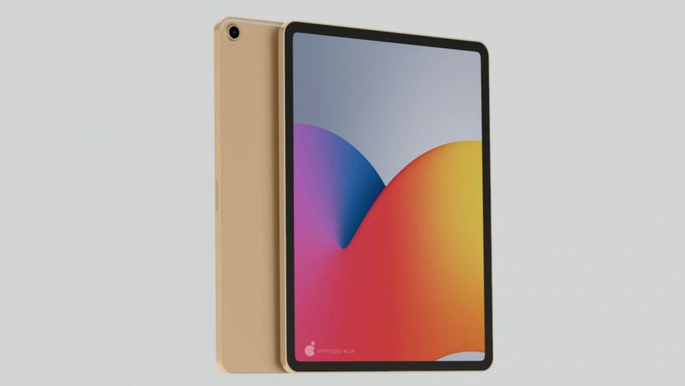 iPad Air 4 concept 9 Nouvel iPad Air 4 : un concept montre un design similaire à celui de liPad Pro 2018