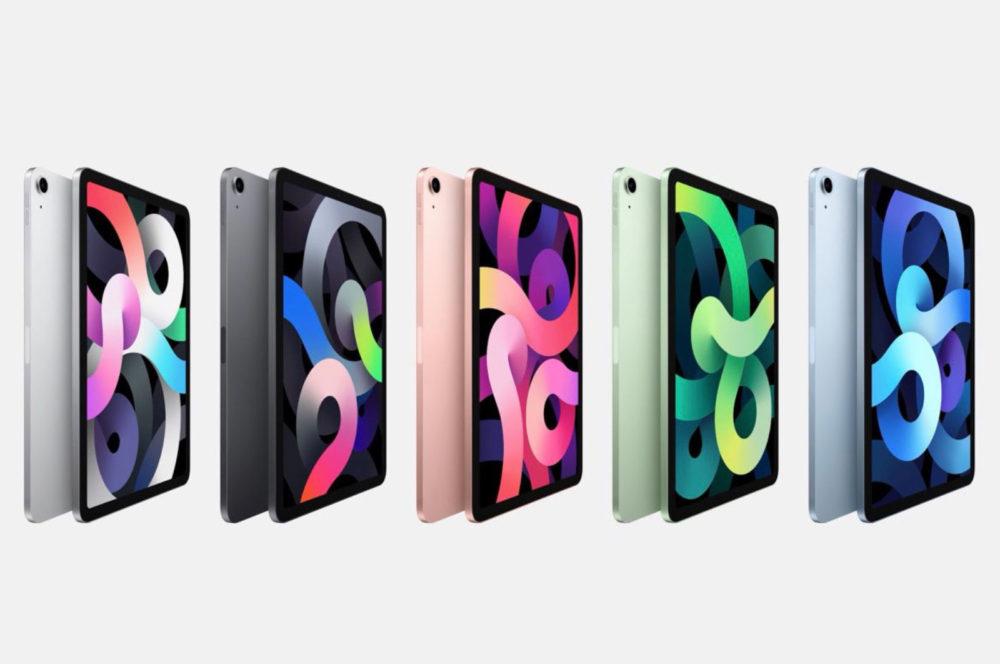 iPad Air 4 iPad Air 4 : un « iPad Pro pas totalement Pro », pas de bouton Home, Touch ID sur le bouton ON/OFF...