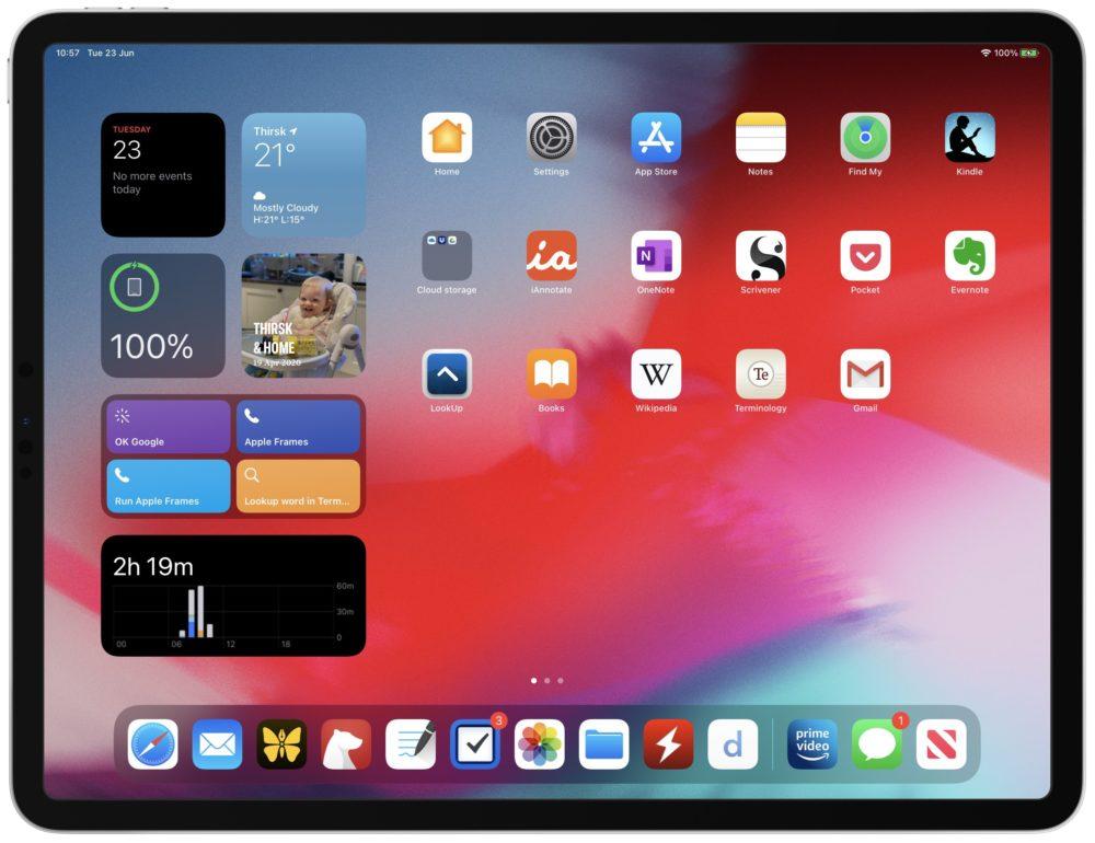 iPadOS 14 Widgets 1 iOS 14.0.1 et iPadOS 14.0.1 disponibles au téléchargement : des correctifs sont proposés