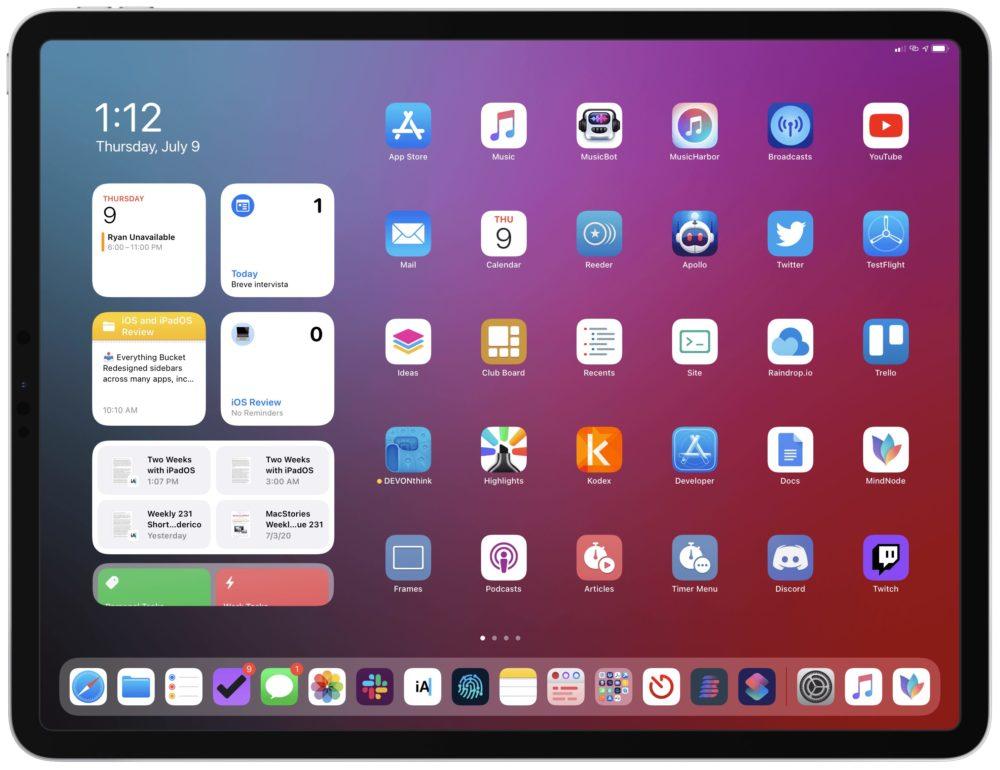 iPadOS 14 Widgets iOS 14 et iPadOS 14 : le taux dadoption est de 27%, 5 jours après leur disponibilité