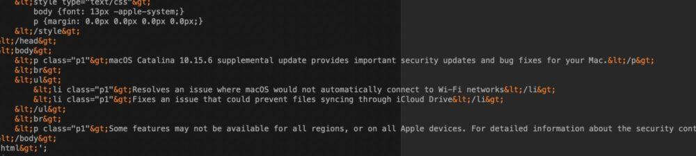 macOS Catalina 10.15.6 Mise A Jour Supp 2 macOS Catalina 10.15.6 : Apple déploie une autre mise à jour supplémentaire