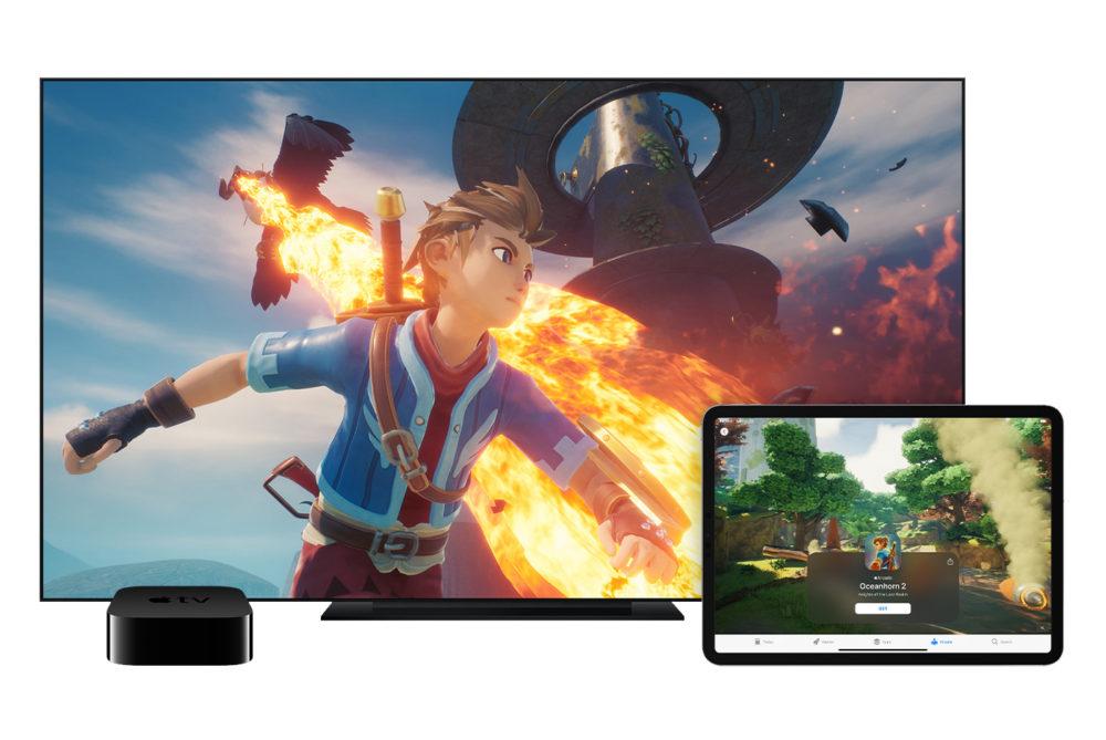 Apple Arcade Apple TV iPad Apple offre gratuitement 3 mois dApple Arcade à lachat dun produit