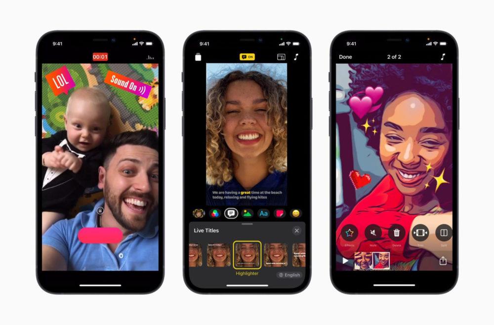 Apple Clips Mise A Jour iPhone 12 Lapp Clips dApple a reçu une mise à jour : support iPhone 12, nouveau design et autres nouveautés