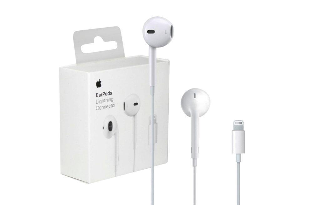 Apple EarPods Lightning Apple réduit le prix des EarPods après la vente des iPhone sans écouteurs (hormis en France)