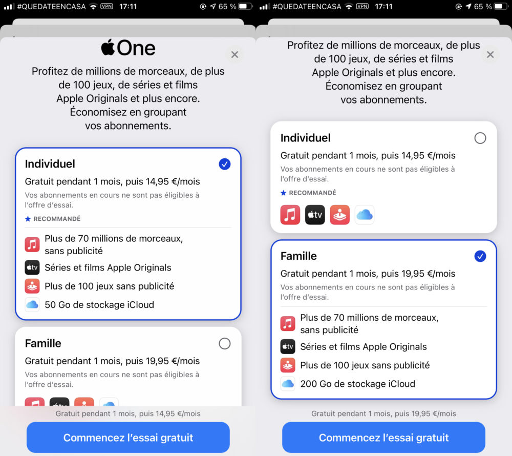 Apple One Activation Apple One est à présent disponible en France et dans dautres pays