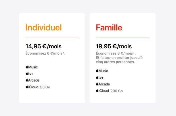 Apple One Economie Apple One est à présent disponible en France et dans dautres pays