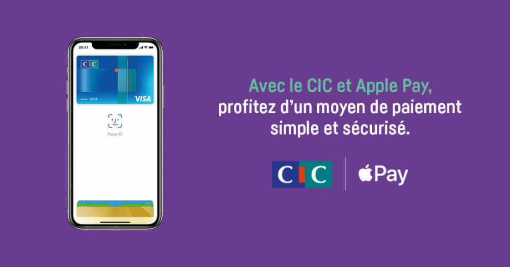 Apple Pay Cartes Visa CIC Apple Pay : les cartes Visa au Crédit Mutuel et au CIC désormais compatibles