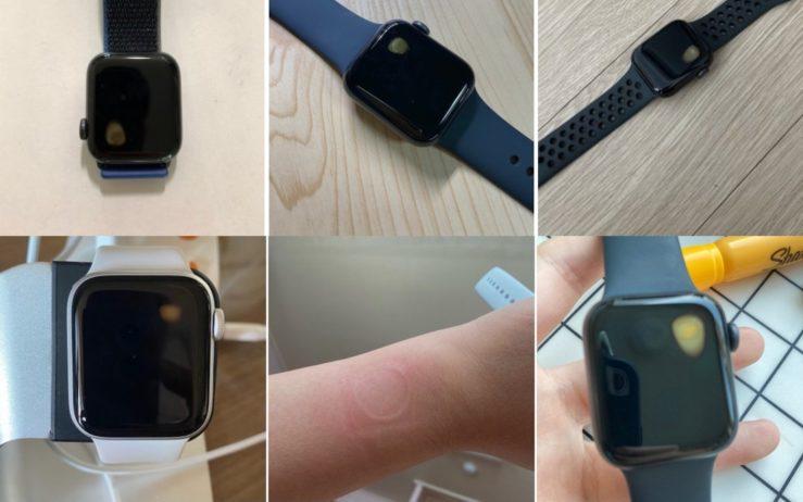Apple Watch SE Surchauffe Ecran Avec Tache Jaune Apple Watch SE : quelques utilisateurs en Corée du Sud font face à des problèmes de surchauffe